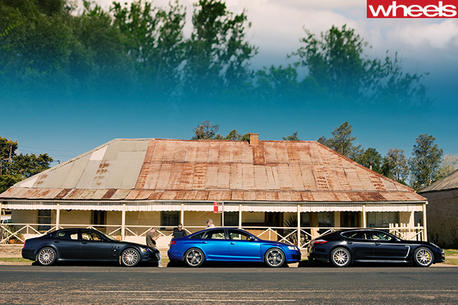 Audi -RS6-Porsche -Panamera -Maserati -Quattroporte