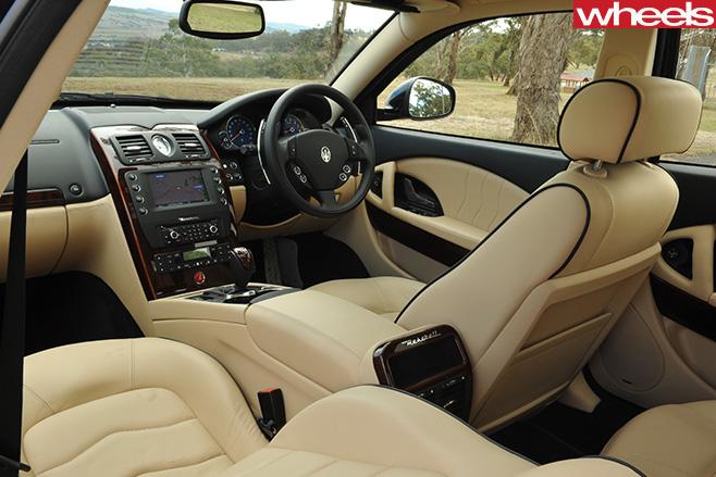 Maserati -Quattroporte -interior