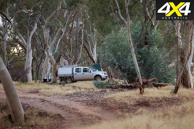 Bush camping area
