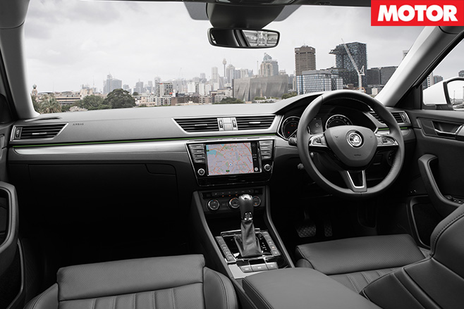 Skoda Superb 206TSI interior