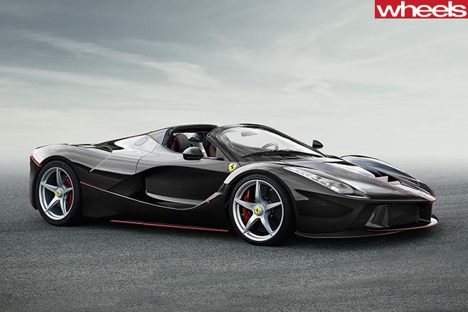 Ferrari -La Ferrari -convetible -side