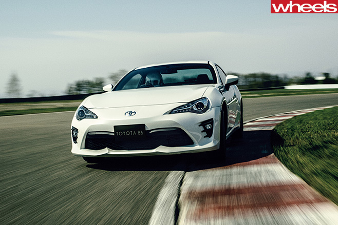 Toyota -86-driving -front
