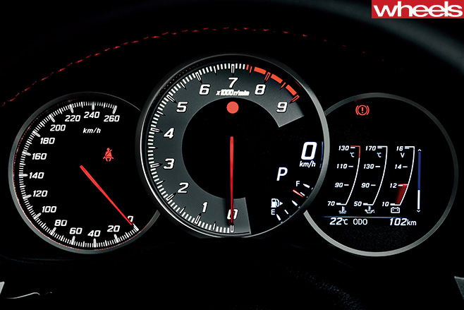 Red -Toyota -86-instrument -cluster