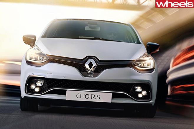 Renault -Clio -white