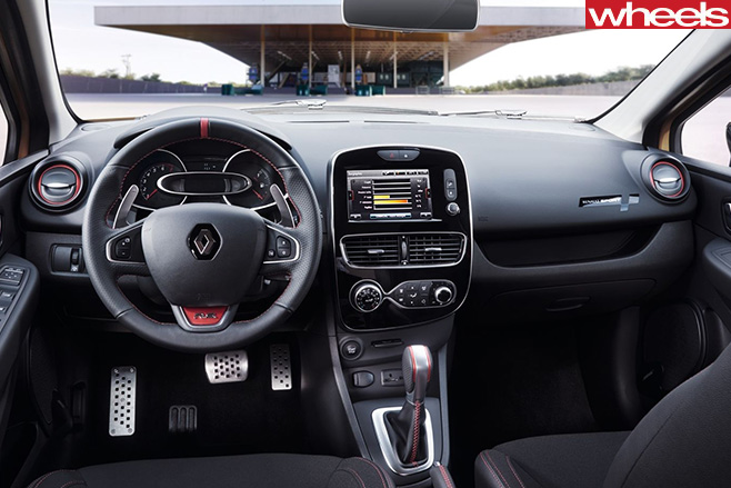 Renault -Clio -Rs 16-interior