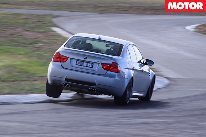 BMW M3 rear driving