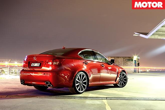 Lexus IS F rear