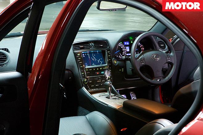 Lexus IS F interior