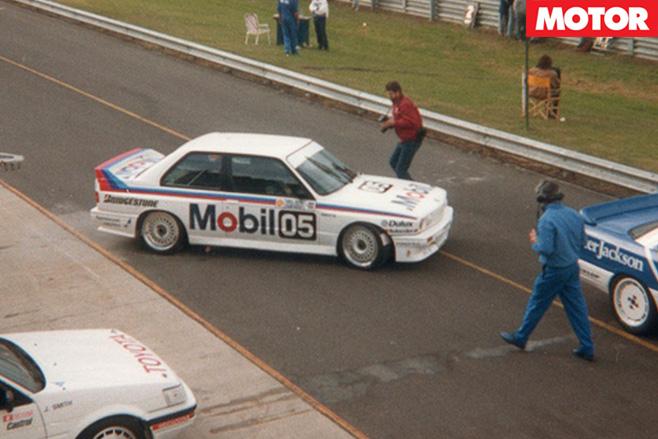 BMW e30 m3 at sandown