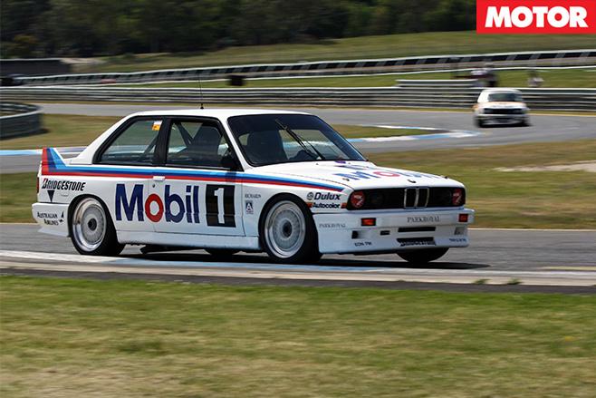 Peter Brocks BMW E30 M3 driving