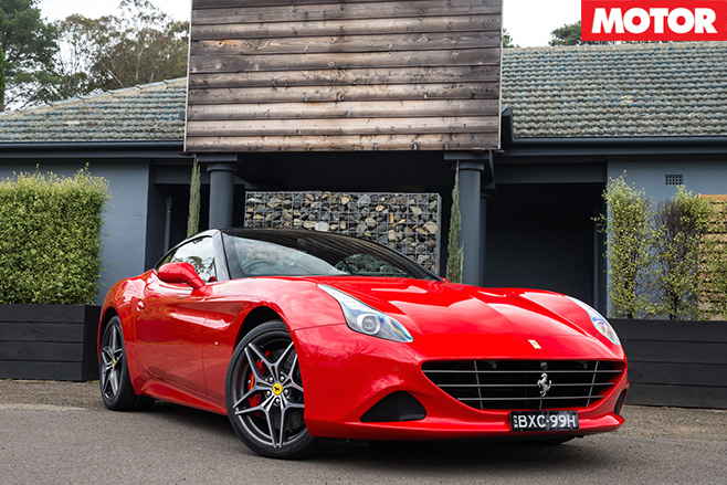 2016 Ferrari California T HS red front