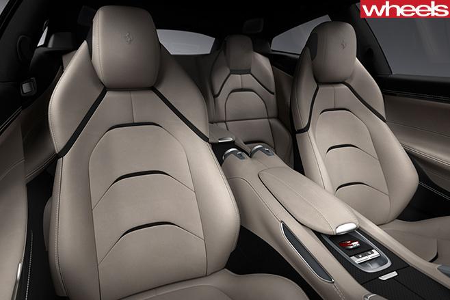 Ferrari -GTC4Lusso -interior