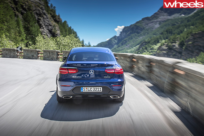 Mercedes -Benz -GLC-rear -driving