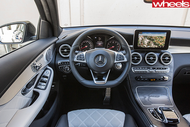 Mercedes -Benz -GLC-interior -steering -wheel