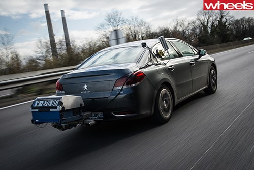 Peugeot --road -for -real -world -fuel -efficiency -test