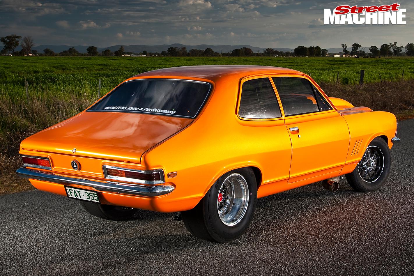 Holden -LC-Torana -rear -angle