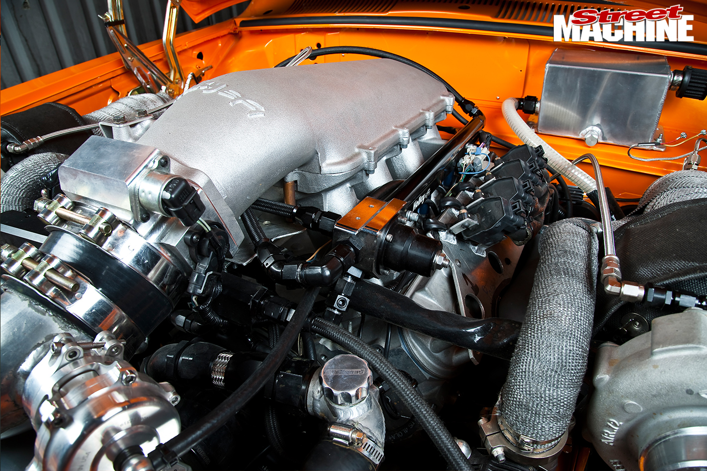 Holden -LC-Torana -engine -detail