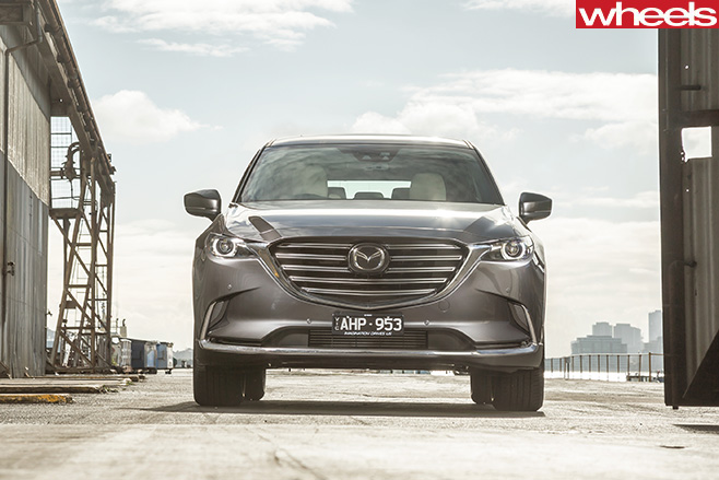Mazda -CX-9-fascia