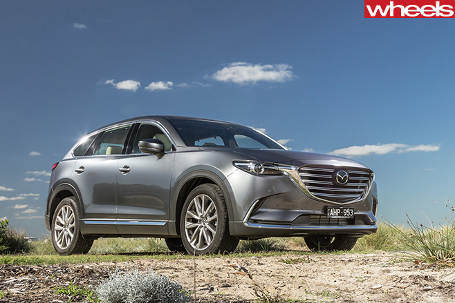 Mazda -CX-9-driving -side -front