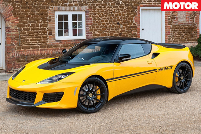 Lotus Evora Sport 410 side