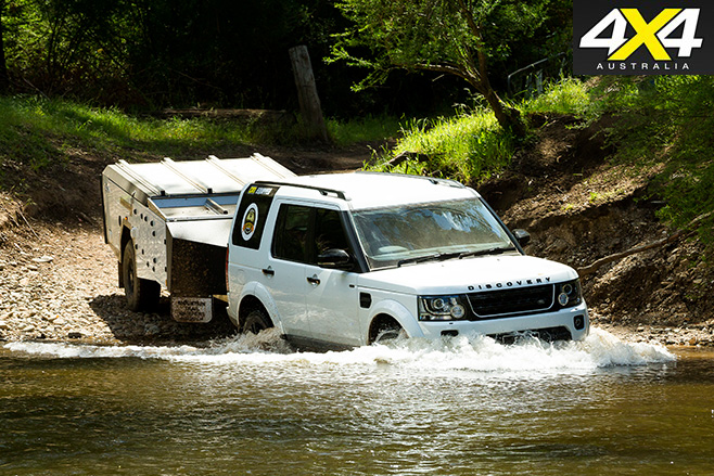 Land rover with Mountain Trail EDX Camper