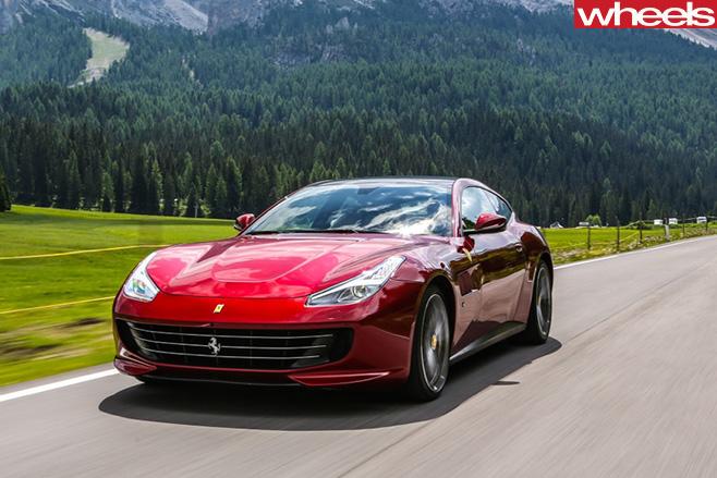 Ferrari -GTC4Lusso -front -side
