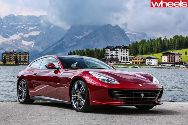 Ferrari -GTC4Lusso -side -front
