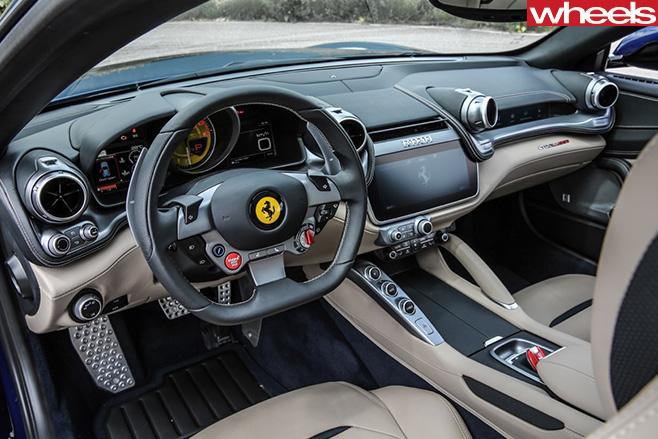 Ferrari gtc4lusso review - 2017 ferrari california interior ...