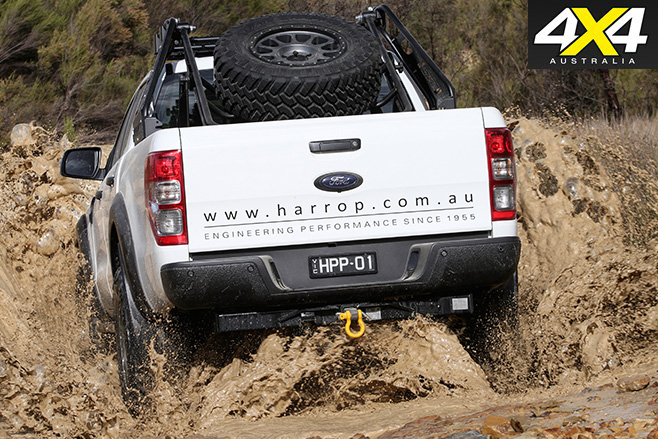 Custom harrop ford ranger mud driving
