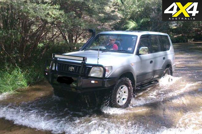 1997 Toyota Prado Andre Der Walt