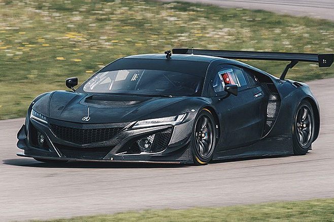 Honda -NSX-GT3-lap