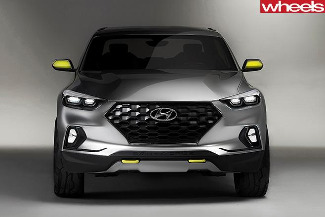 Hyundai -Santa -Cruz --front