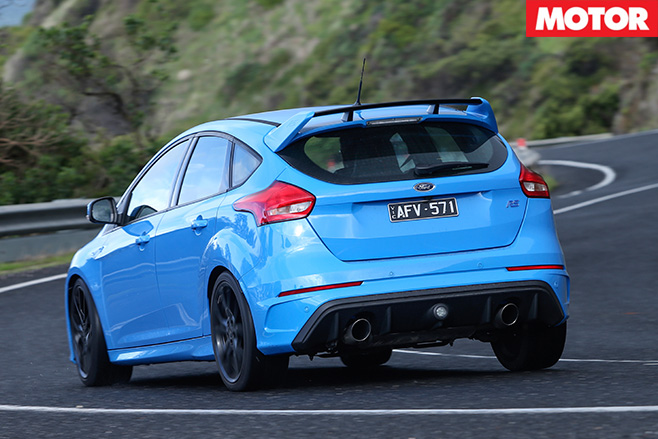 2016ford focus rs rear driving