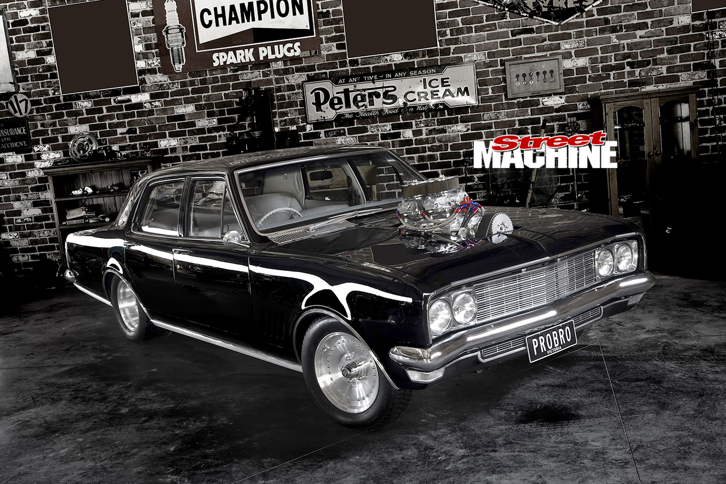 Holden -HG-Brougham -front