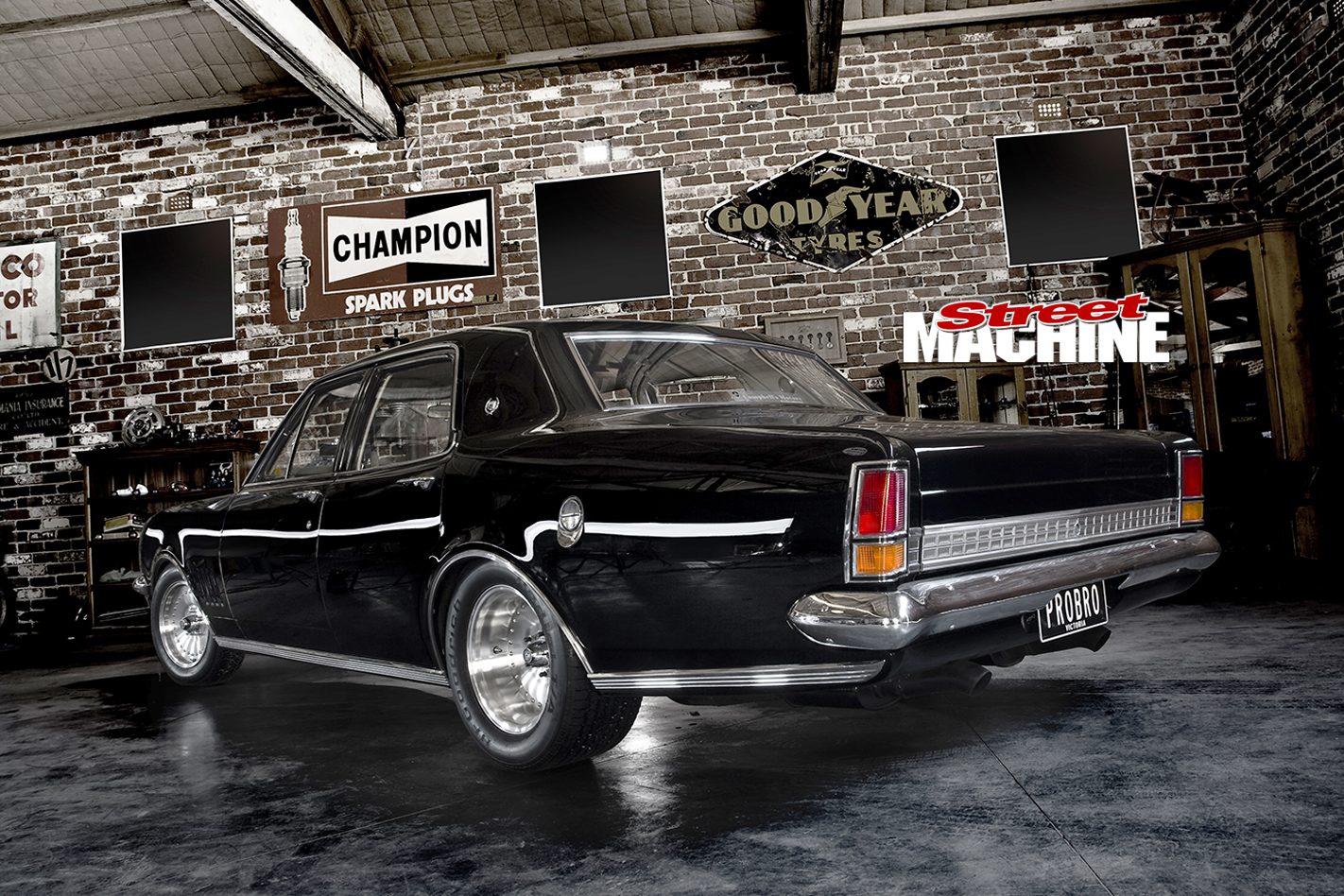 Holden -HG-Brougham -rear