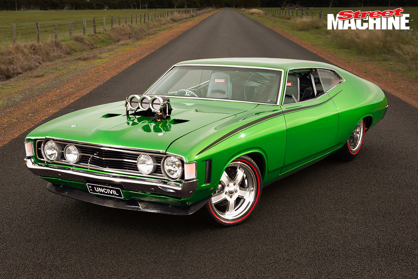 Ford XA Falcon Coupe Blown