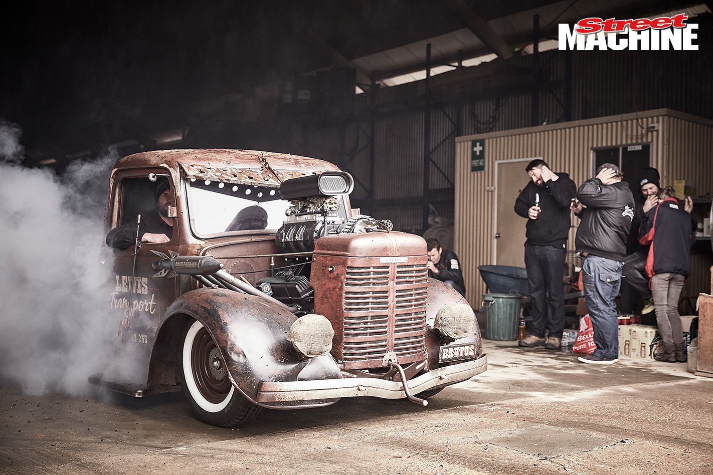 Rat Rod Blown Burnout