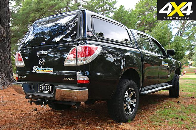 Mazda BT-50 rear