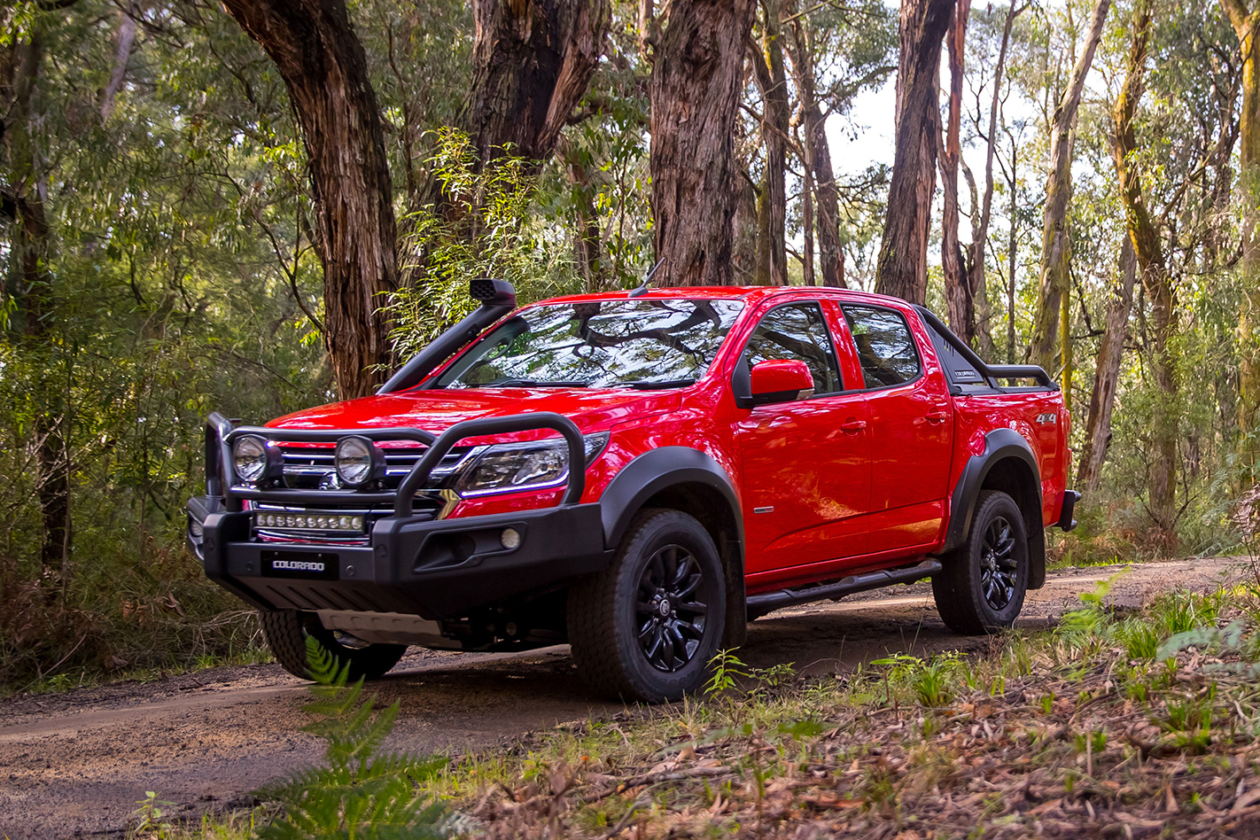 2017 holden colorado accessorised model