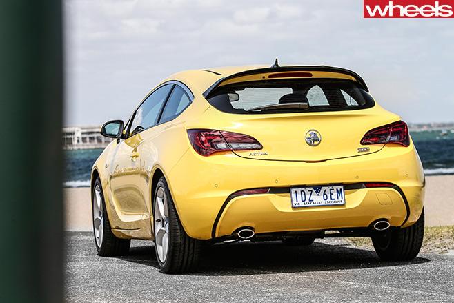 Holden -Astra -rear