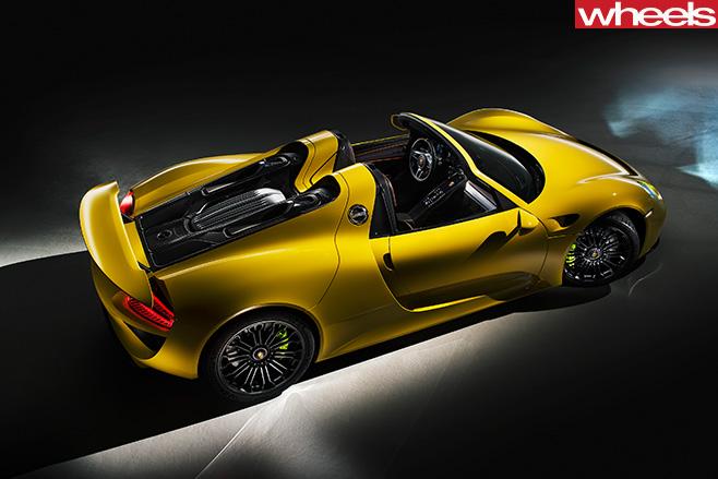 Porsche -918-Spyder -top