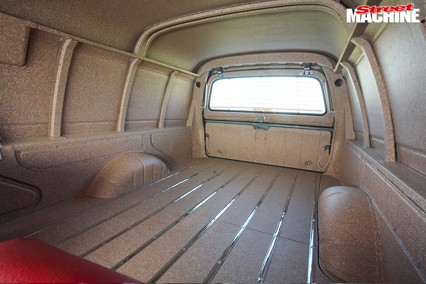 Holden -HD-van -interior -rear