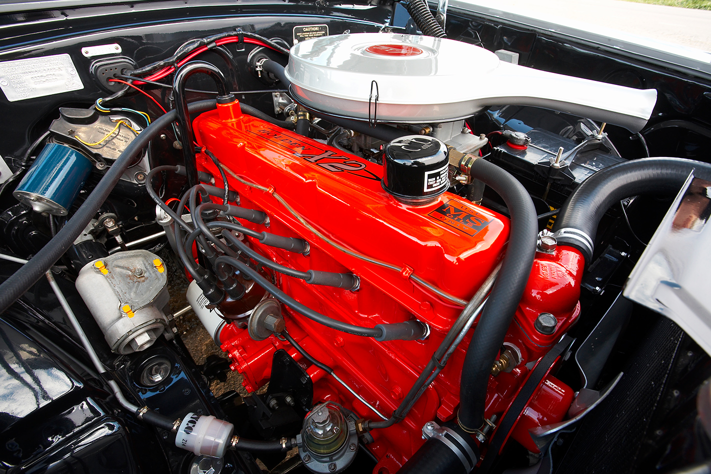 Holden -HD-van -engine