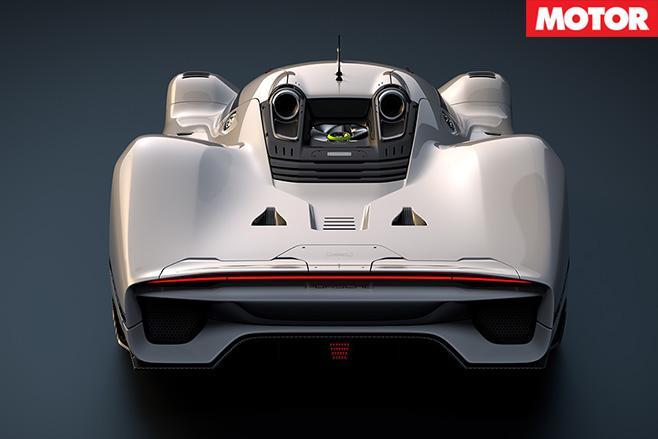 Porsche 908/04 Vision GT Concept rear