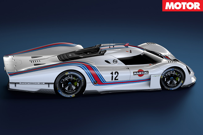 Porsche 908 04 Vision GT Concept side rear