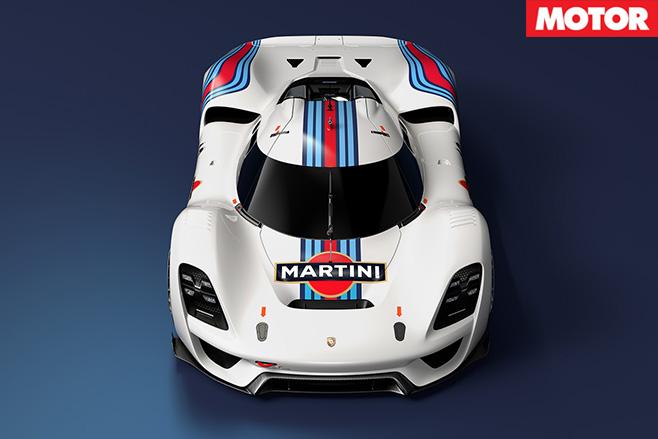 Porsche 908/04 Vision GT Concept front