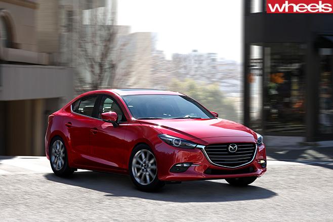 Mazda sedan