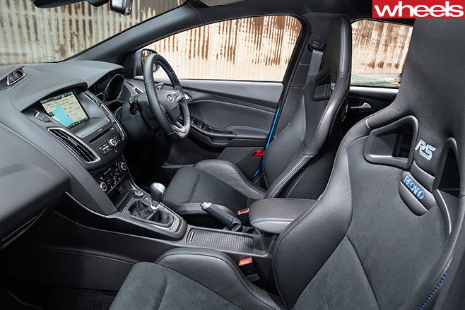 Ford -Focus -RS-interior