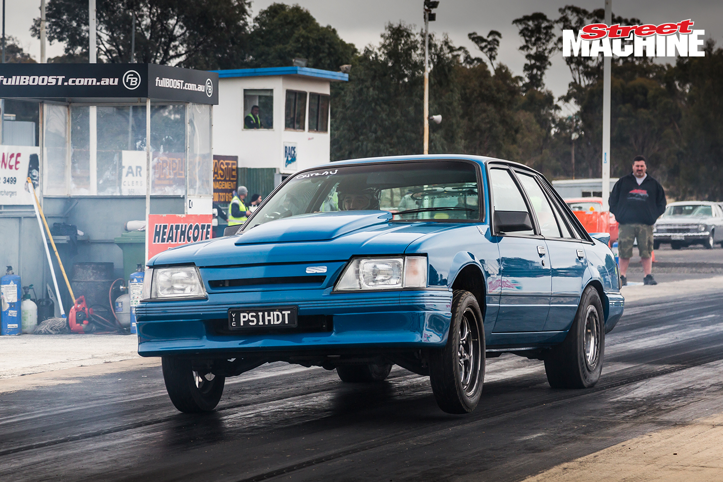 Holden VK Commodore HDT Brock Blue Meanie LSA 12