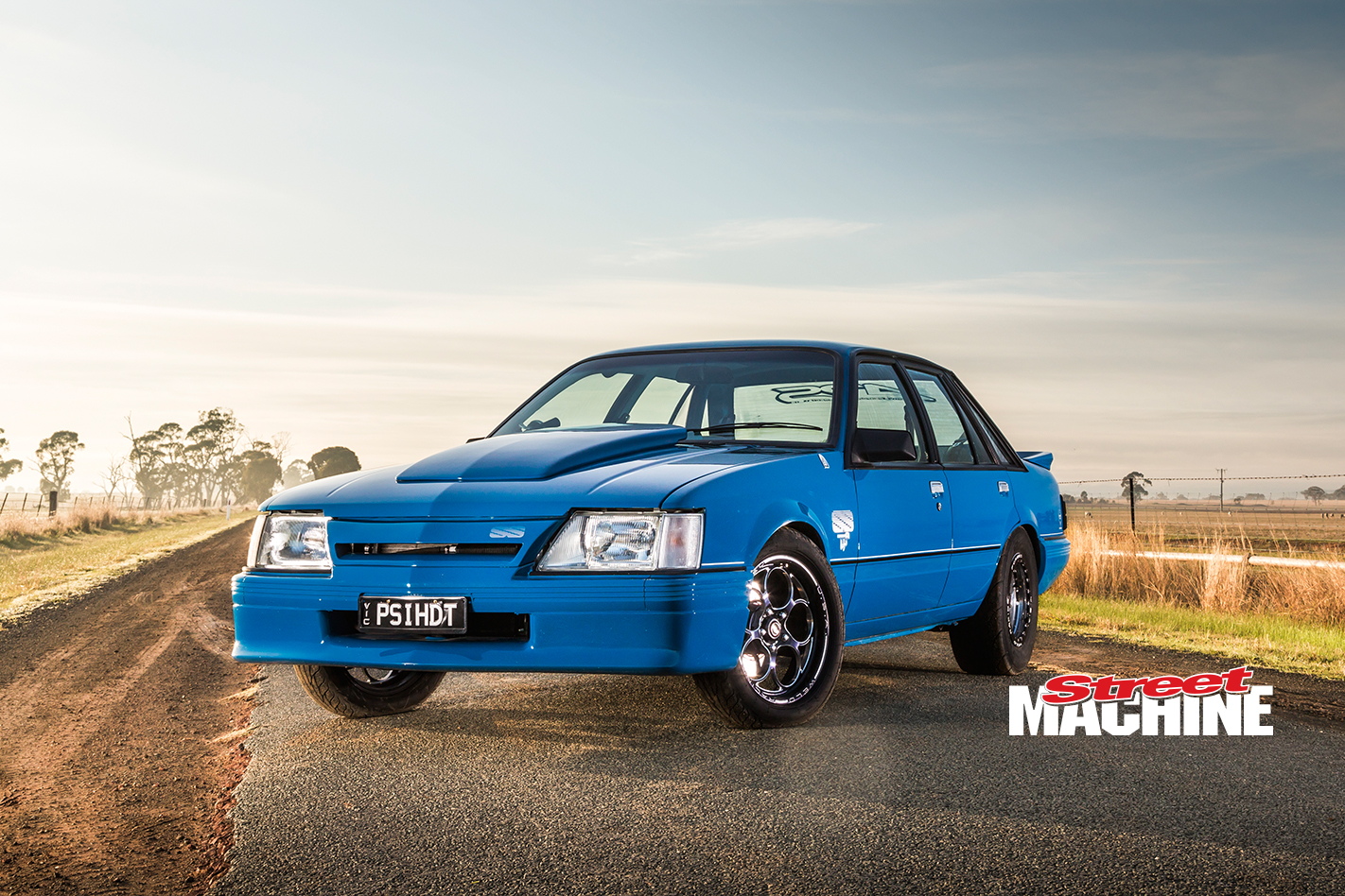 Holden VK Commodore HDT Brock Blue Meanie LSA 16